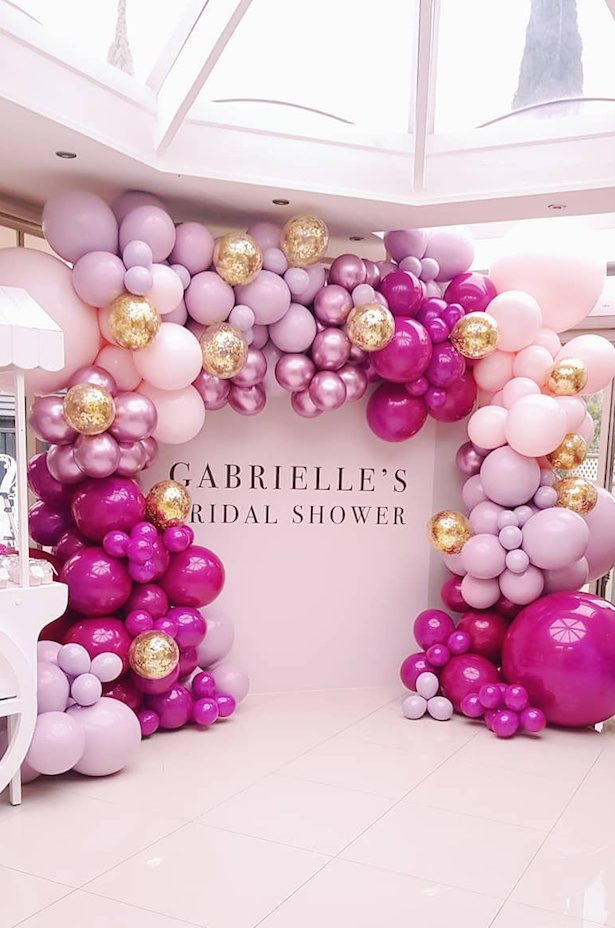 Wedding balloon backdrop -via Balloon Boutique Melbourne