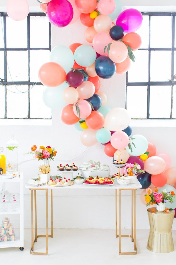 Wedding balloon installation - Photos by Jared Smith