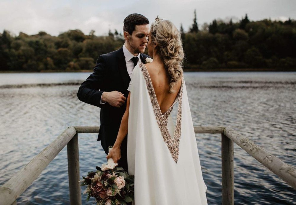 A Statement Trend: 15 Wedding Dresses with Capes (Part 2)