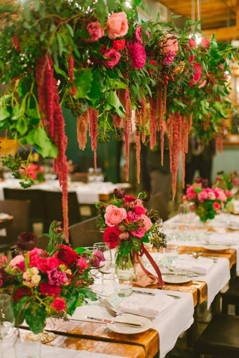 The Prettiest Hanging Floral Arrangements