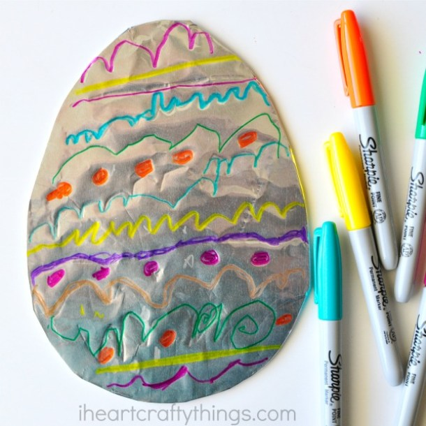 15 Fun and Creative Easter Egg Crafts for Kids and Toddlers (Part 1) - Easter Egg Decor, Easter Egg Crafts, Easter Egg