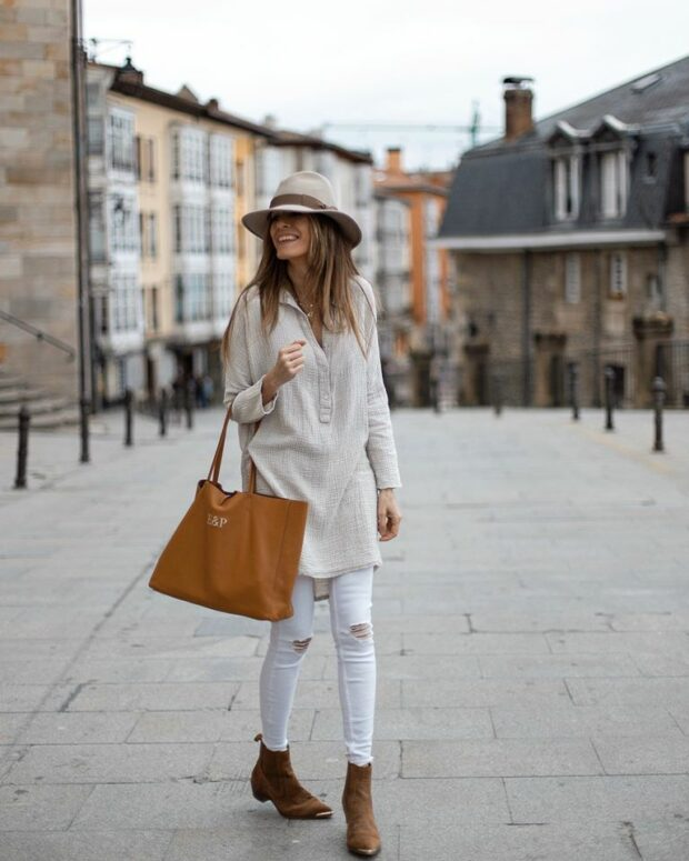 Color of The Season White: 13 Stylish Spring Outfit Ideas (Part 1)