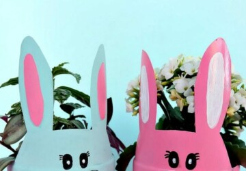 15 Best Bunny Crafts for Easter (Part 2) - Bunny Crafts for Easter, Bunny Crafts, Bunny Craft