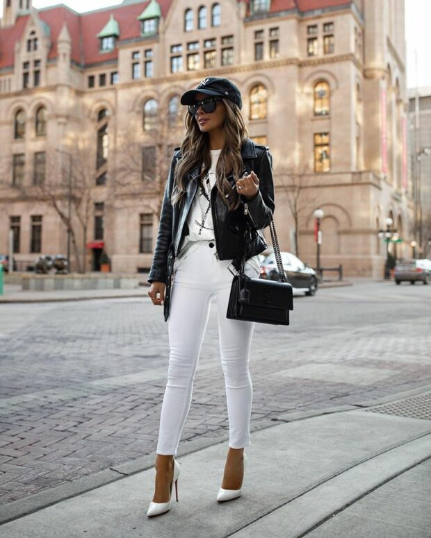 Color of The Season- White: 13 Stylish Spring Outfit Ideas (Part 1) - white outfit, spring outfit idea, spring fashion trend, all white spring outfit ideas, all white outfit ideas