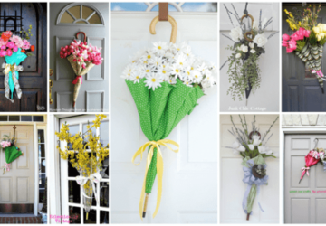 15 Creative DIY Easter Wreath Ideas (Part 1) - DIY Easter Wreaths, DIY Easter Wreath Ideas, diy Easter wreath