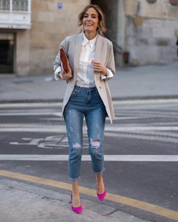 Trendy Jeans for Stylish Spring Outfits