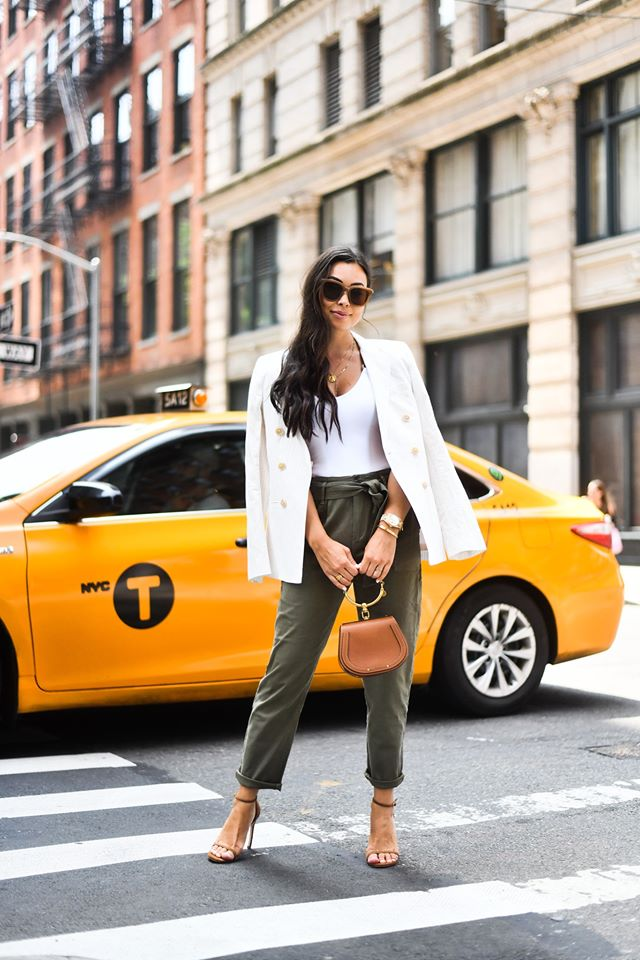 Color of The Season  White: 13 Stylish Spring Outfit Ideas (Part 2)
