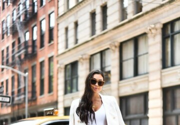 Utterly Inspiring Spring Outfit Ideas (Part 2) - spring street style, Spring Outfits Ideas, Early Spring outfit, casual spring outfits