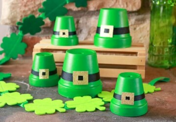 Easy DIY St. Patrick's Day Home Decorations (Part 1) - St. Patrick's Day Crafts, Diy St. Patrick's Day Decorations, DIY Decoration Ideas For St. Patrick's Day