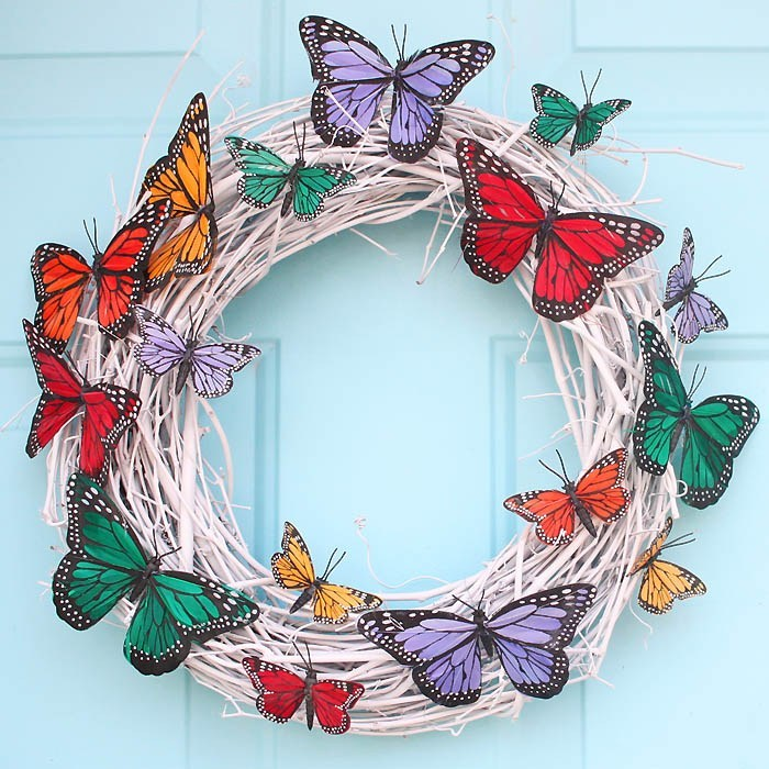 DIY Easter Wreaths Perfect for Your Front Door (Part 2)