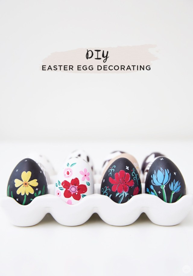 Easy DIY Easter Egg Decorating Ideas (Part 1)