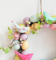 DIY Easter Wreaths Perfect for Your Front Door (Part 2) - DIY Easter Wreaths, diy Easter wreath, DIY Easter Decor ideas
