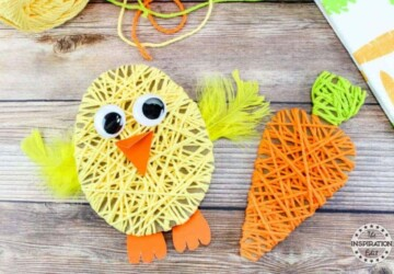 Fun and Creative Easter Crafts (Part 1) - Easter Crafts for Kids, Easter crafts, Easter Craft ideas