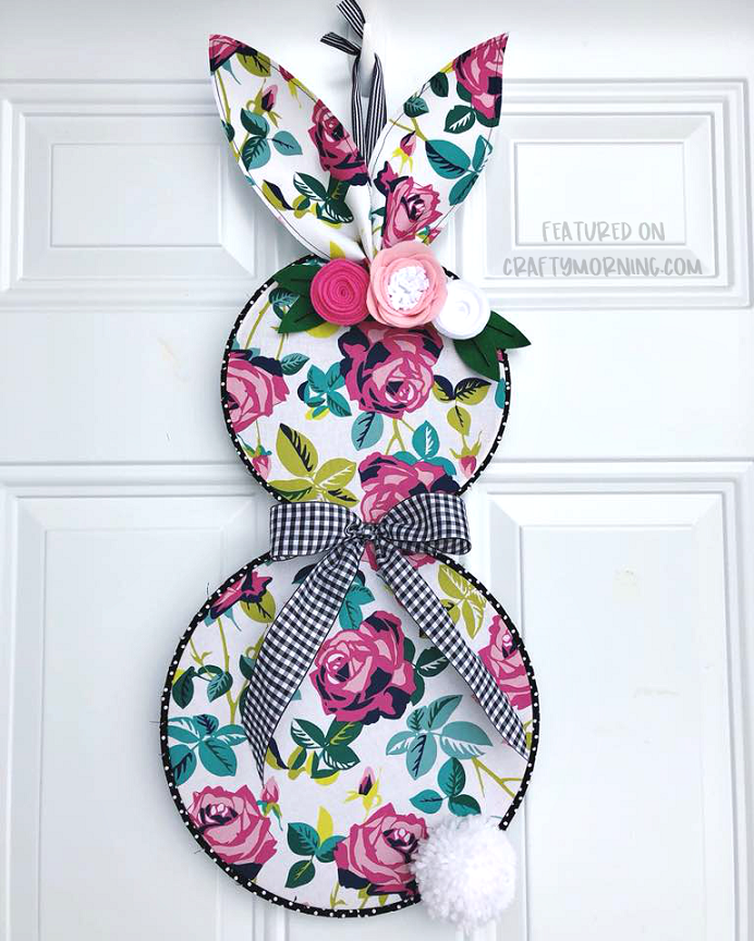 DIY Easter Wreaths Perfect for Your Front Door (Part 1)