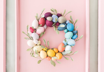 DIY Easter Wreaths Perfect for Your Front Door (Part 1) - DIY Easter Wreaths, diy Easter wreath, DIY Easter Decoration