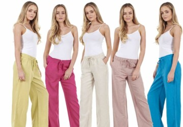 What to Buy in These Women Linen Trousers? - woman, trousers, shop, online, fashion