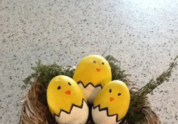 Easter Eggs Decor 2020: 15 Creative Easter Egg Decorating Ideas to Try This Year (Part 1) - DIY Easter Egg Decorating Ideas, DIY Easter Egg Decorating, DIY Easter Egg Decor Ideas, DIY Easter Egg, diy Easter