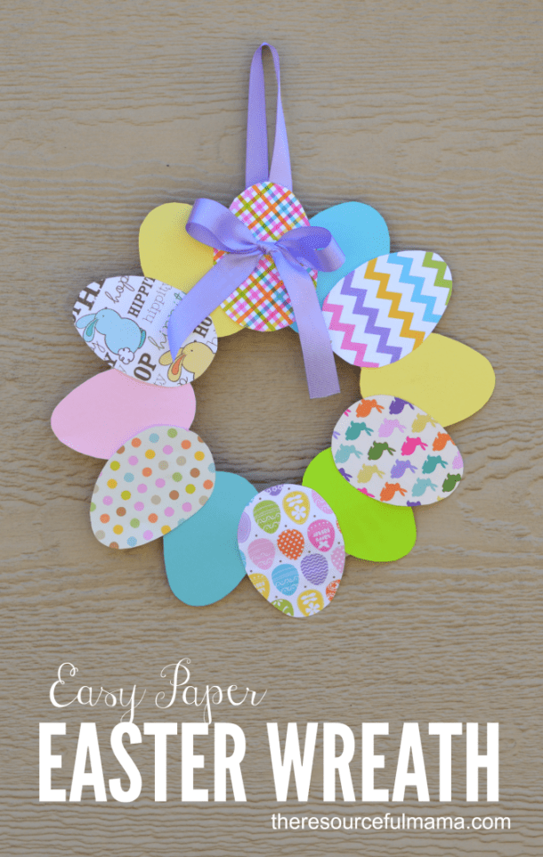 15 Simple Easter Crafts for Kids - Easter Crafts for Kids, Easter Craft ideas, DIY Easter Decor Projects