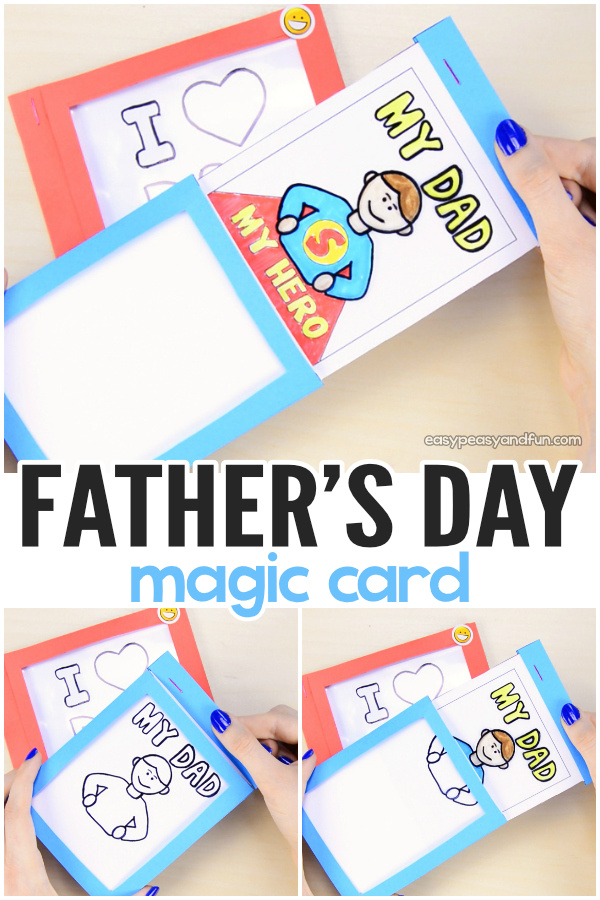 15 Easy Fathers Day Craft Gifts for Kids (Part 1)