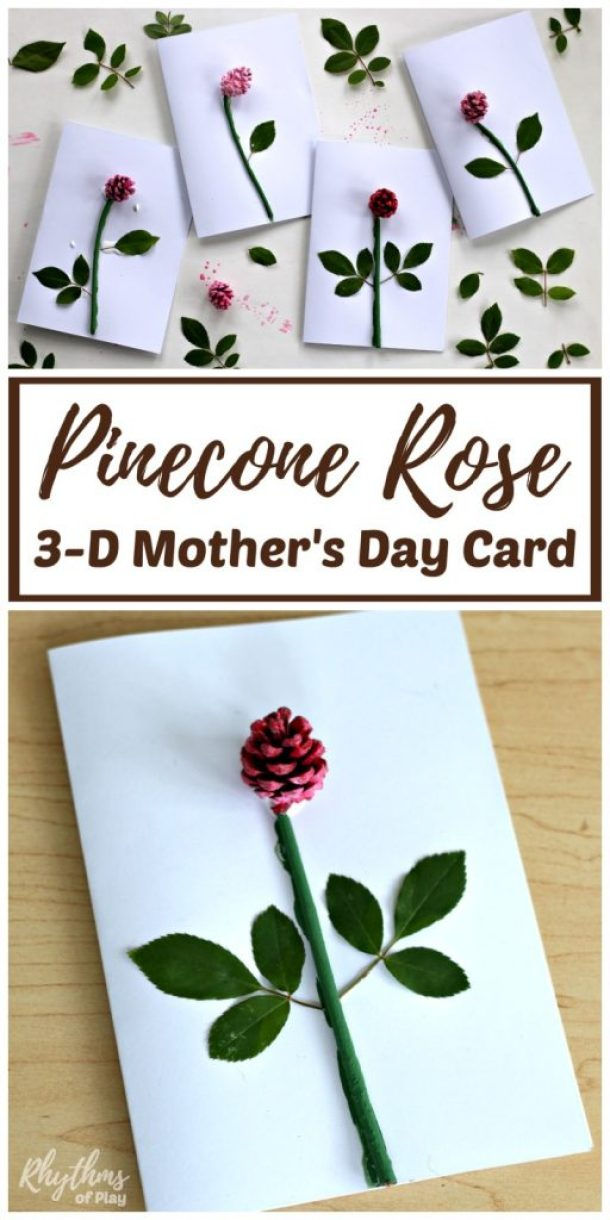 15 Mother's Day Craft Ideas for Kids (Part 6) - Mother's Day Craft Ideas for Kids, Mother's Day Craft Ideas, DIY Mother's Day Crafts