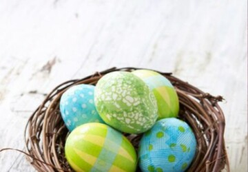 Easter Eggs Decor 2020: 15 Creative Easter Egg Decorating Ideas to Try This Year (Part 2) - DIY Easter Eggs, DIY Easter Egg Decorating Ideas, DIY Easter Egg Decor Ideas, diy Easter