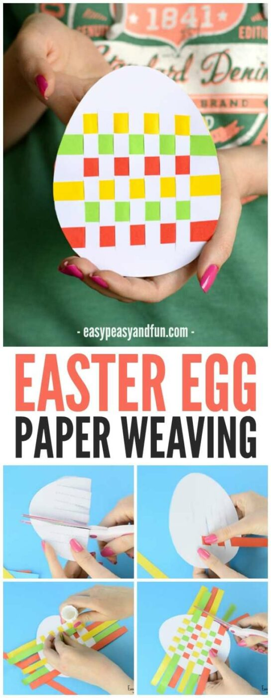 Easter Crafts: 15 Best Projects for Children - Easter kids outfit, Easter Crafts for Kids, Easter Craft ideas