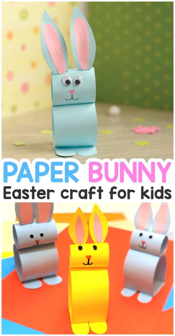 15 Easter Crafts for Your Little Bunny - Easter Crafts for Kids, DIY Easter Decor Projects, diy Easter