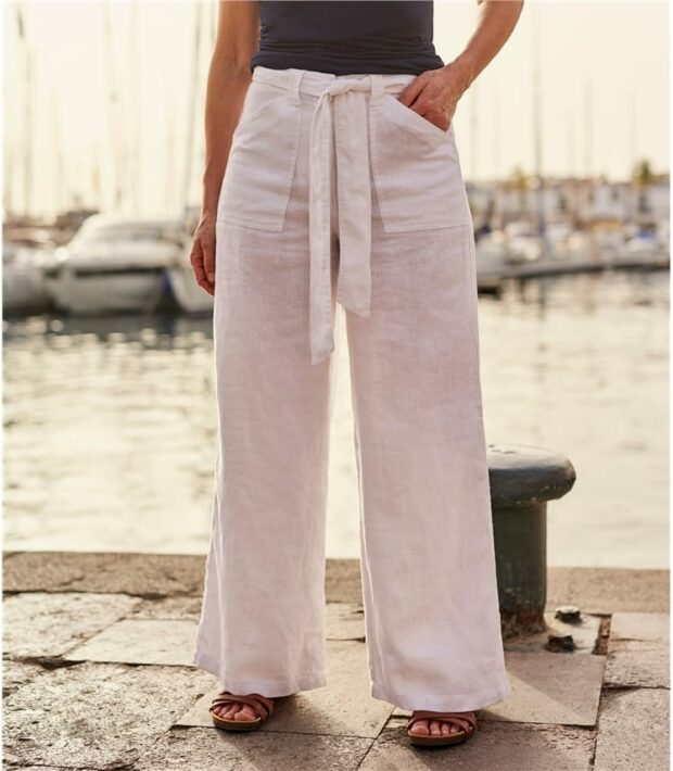 What to Buy in These Women Linen Trousers?