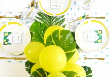 15 Awesome DIY Balloons Party Decorations (Part 2) - diy party crafts, DIY Balloons Party Decorations, DIY Balloons Party