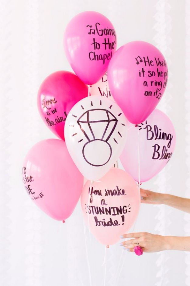 Balloon Crafts - DIY Balloon Wishes - Fun Balloon Craft Ideas, Wall Art Projects and Cute Ballon Decor - DIY Balloon Ideas for Toddlers, Preschool Kids, Teens and Adults - Cheap Crafts Made With Balloons - Pumpkins, Bowls, Marshmallow Shooters, Balls, Glow Stick, Hot Air, Stress Ball http://diyjoy.com/balloon-crafts