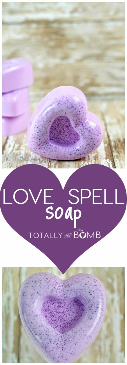 Soap Recipes DIY - Love Spell Soap - DIY Soap Recipe Ideas - Best Soap Tutorials for Soap Making Without Lye - Easy Cold Process Melt and Pour Tips for Beginners - Crockpot, Essential Oils, Homemade Natural Soaps and Products - Creative Crafts and DIY for Teens, Kids and Adults http://diyprojectsforteens.com/cool-soap-recipes