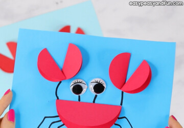 15 Easy Summer Crafts for Kids (Part 1) - Summer Crafts for Kids, summer crafts, Crafts For Kids, 4th Of July Crafts For Kids