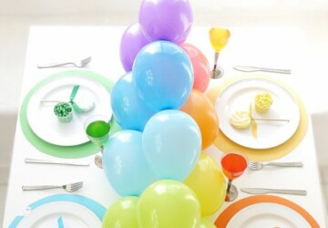 15 Awesome DIY Balloons Party Decorations (Part 1) - DIY party favors, diy party decorations, DIY Balloons Party Decorations, DIY Balloons Party