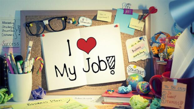 Jobs to love, Part I