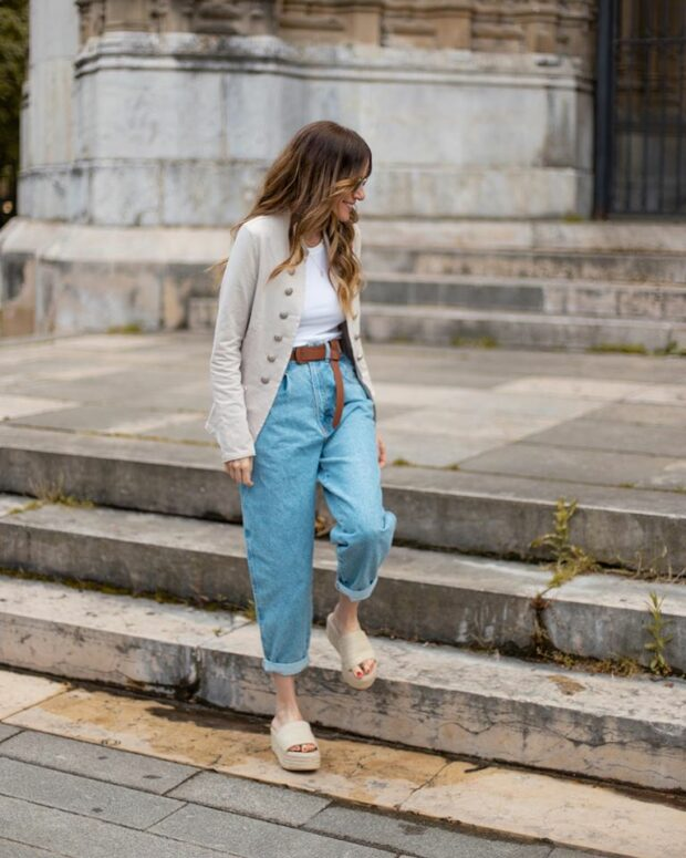 This Is the Trending Spring and Summer Jeans Trend of 2020