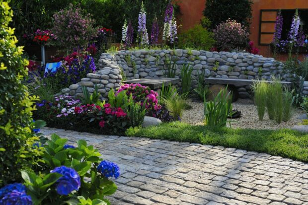 Getting Your Yard Ready For Spring And Summer - yard, planters, Planter, patio, landscape, garden, design, deck, backyard