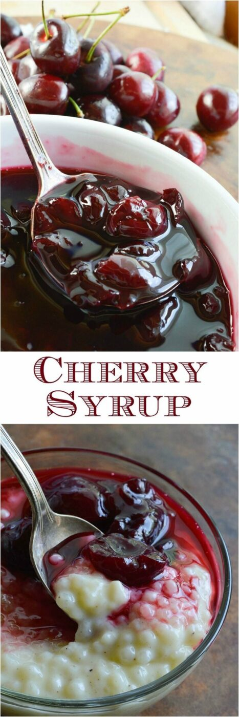 15 Dazzling Cherry Recipes (Part 1) - Cherry Recipes, Cherry Recipe, Cherry Dessert Recipes, Cherry Dessert