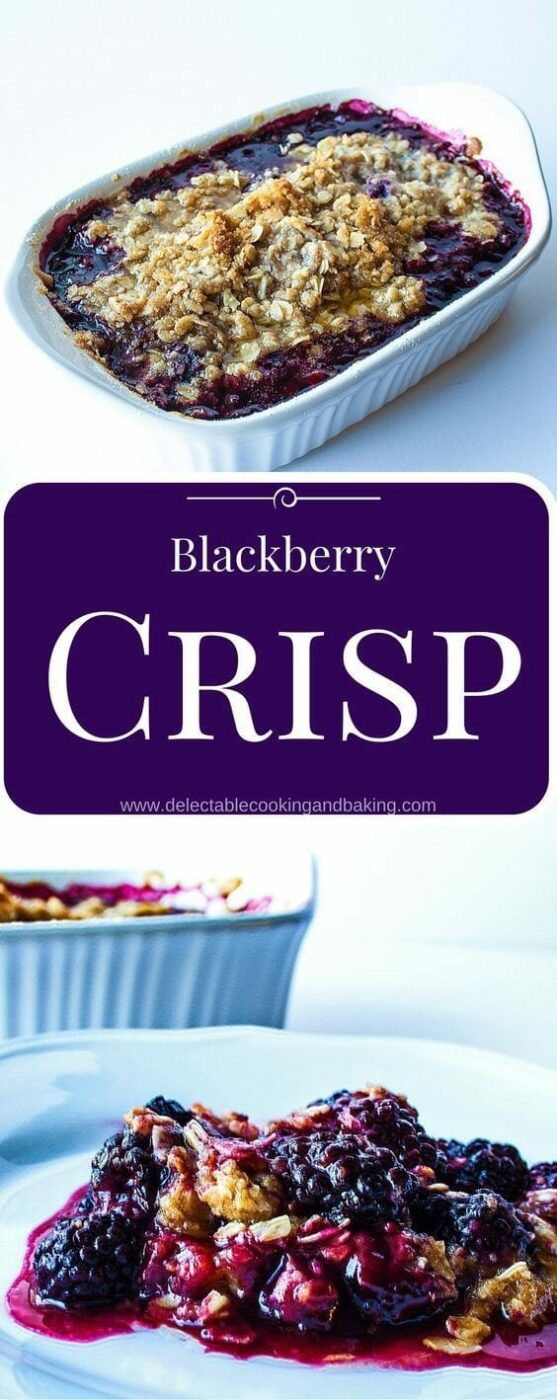 15 Delicious Blackberry Recipes for Desserts and More (Part 2) - Blackberry Recipes, blackberry