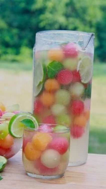 15 Best Non-Alcoholic Summer Party Drinks (Part 2) - Summer Party Drinks, summer drink recipes, Non-Alcoholic Summer Party Drinks, Non Alcoholic Summer Drinks