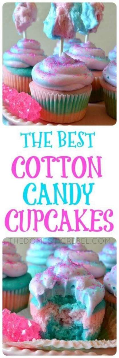 15 Tasty and Creative Cotton Candy Recipes (Part 2) - Cotton Candy Recipes, Cotton Candy