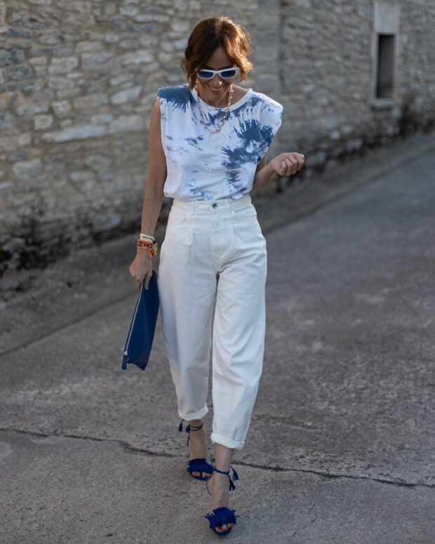What to Wear With White Jeans and Pants Summer Edition