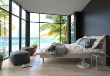 How To Style Your Bedroom For The Summer Season - summer, seasson, fan, curtains, bedroom