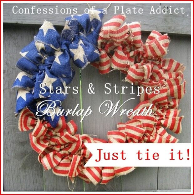 15 Great DIY 4th Of July Wreaths (Part 2)