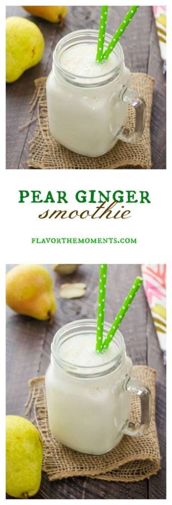 13 Ginger Smoothie Recipes for Detox - Healthy Smoothie, Ginger Smoothie recpes, Ginger Smoothie, Ginger