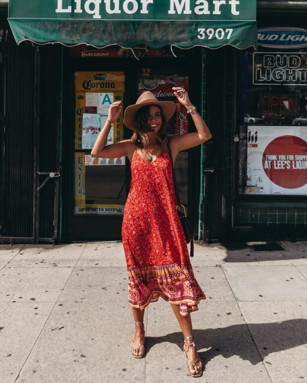 The Best Summer Midi Dresses Youll Want To Live In