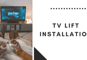 TV Lift Installation with a DIY Linear Actuator - tv, linear, installation, diy, decorate, acuator