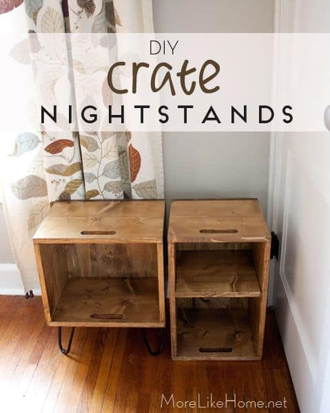 DIY Nightstand Ideas For Creative Beginners