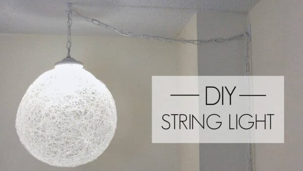 DIY Projects- Coolest DIY Pendant Lights That Add Style And Charm - pendant lights, DIY Pendant Lights, DIY Pendant