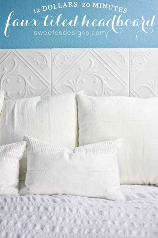 Simple DIY Headboards