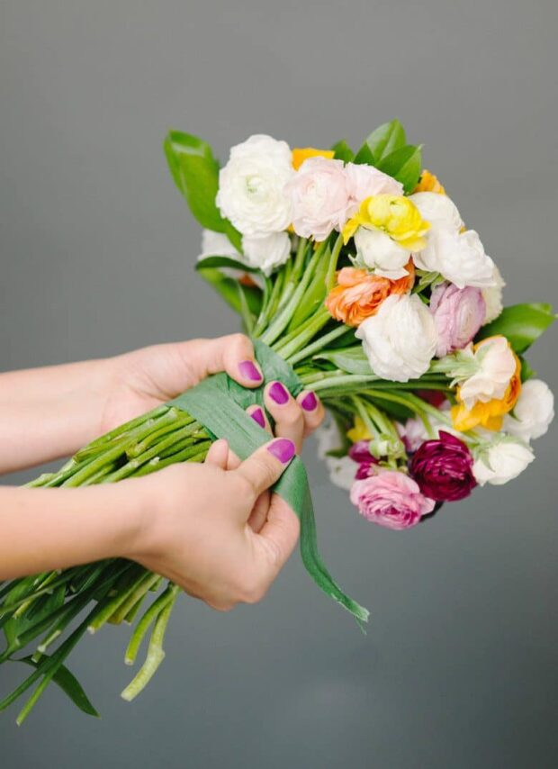 12 DIY Bridal Bouquets You Can Actually Make Yourself